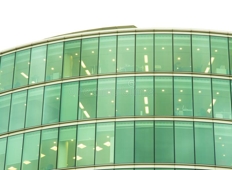 Modern business office building royalty free stock photos