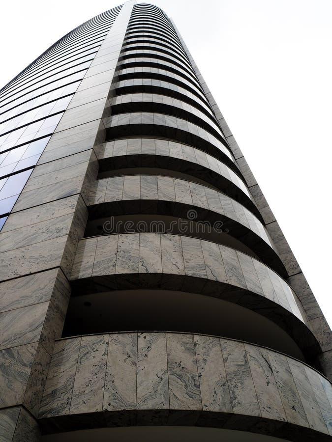 Modern business skyscraper in Sao Paulo - business building stock image