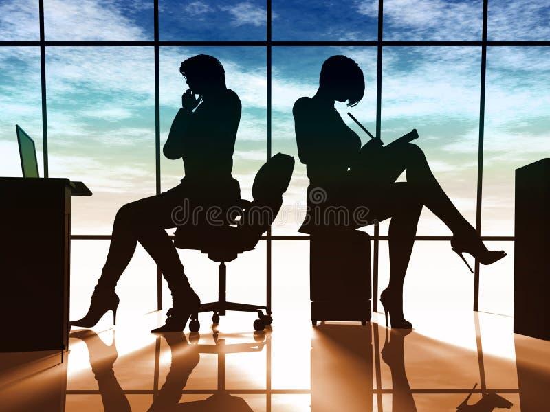 Modern business woman stock photography