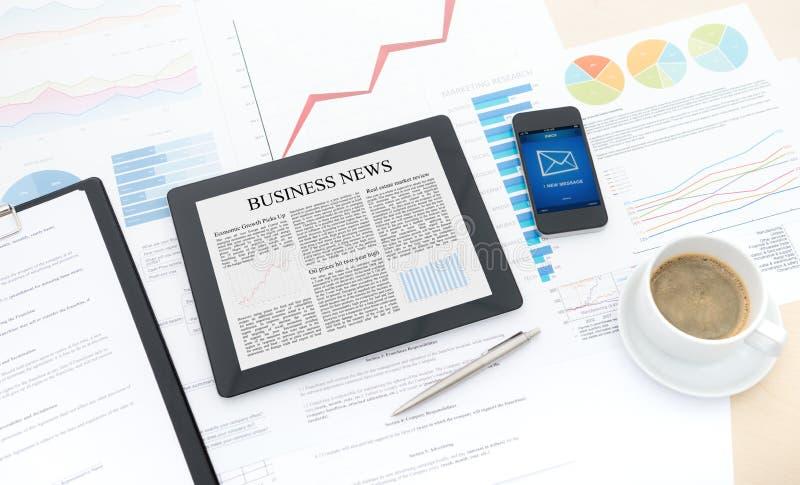 Modern business workflow stock photos