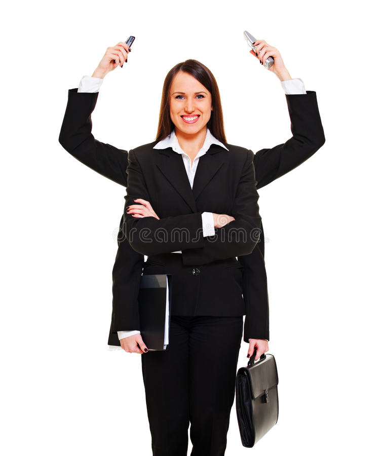 Download Modern businesswoman stock image. Image of effective - 12607287