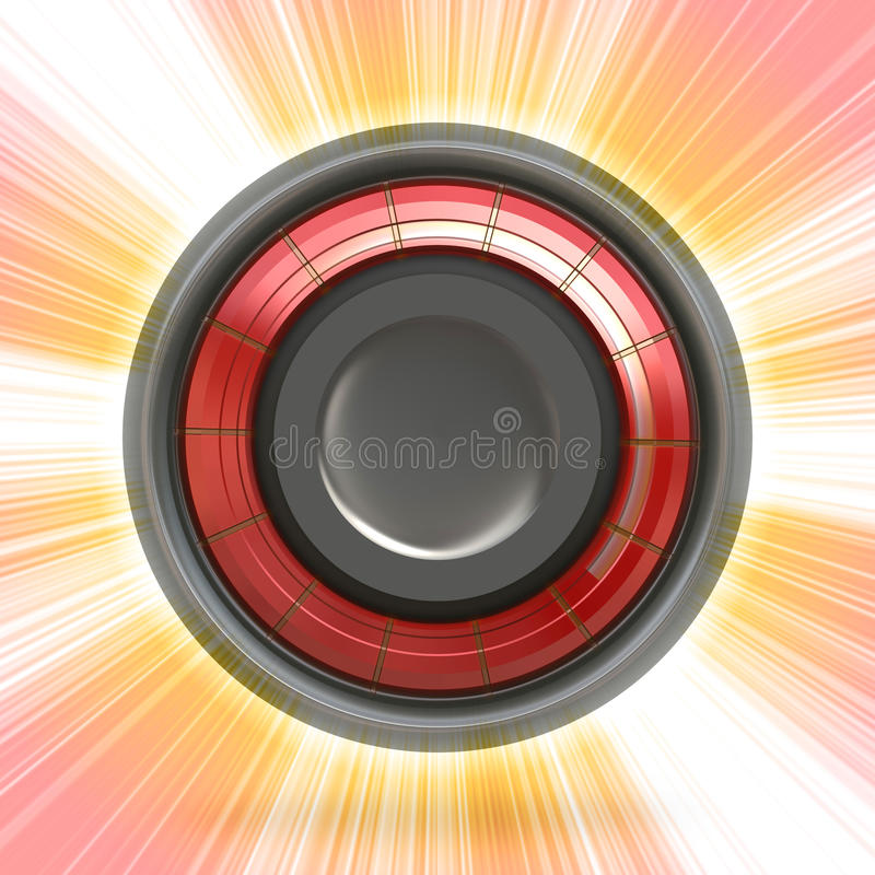 Download Modern Button or Icon stock illustration. Image of circular - 17605487
