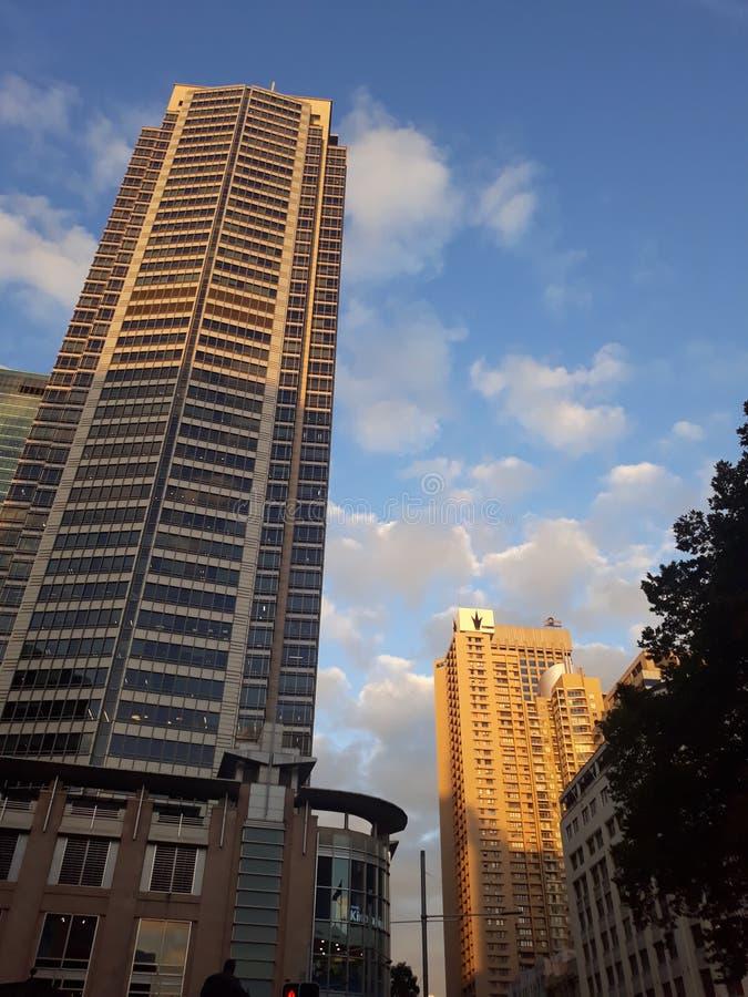 Modern byggnad i Sydney, Australien arkivfoton
