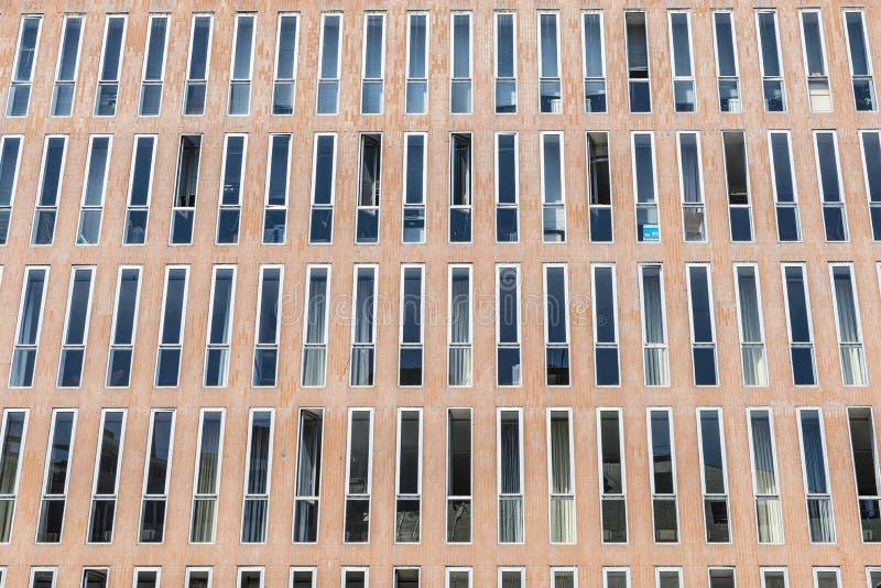 modern byggnadsfacade arkivbild