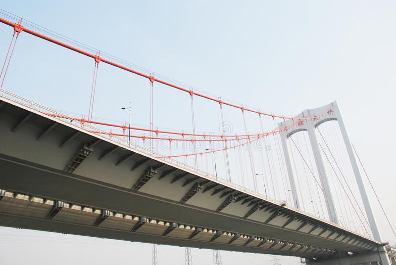 Download The Modern Cable Stayed Bridge Stock Image - Image: 8571187