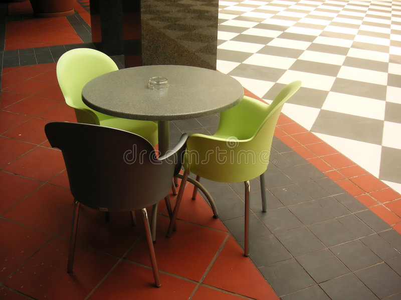 Download Modern cafe stock photo. Image of chairs, modern, colorful - 117416
