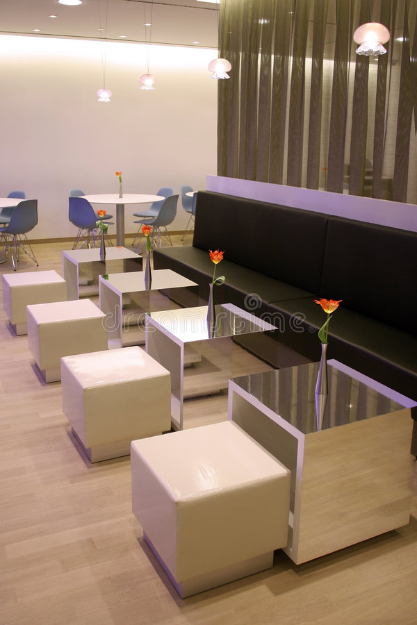 Free Modern Cafe Interior Stock Image - 5245411