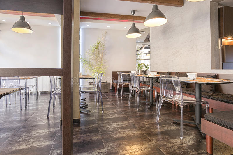 download modern cafe interior stock photo image of bamboo cafe 54783466