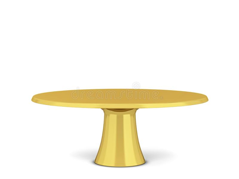 Modern cake stand stock illustration