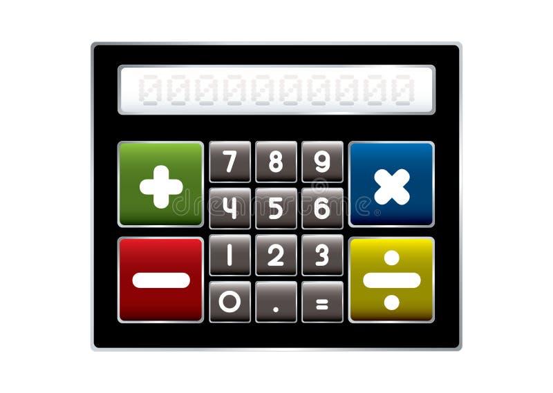 Download Modern calculator stock illustration. Illustration of financial - 26380726