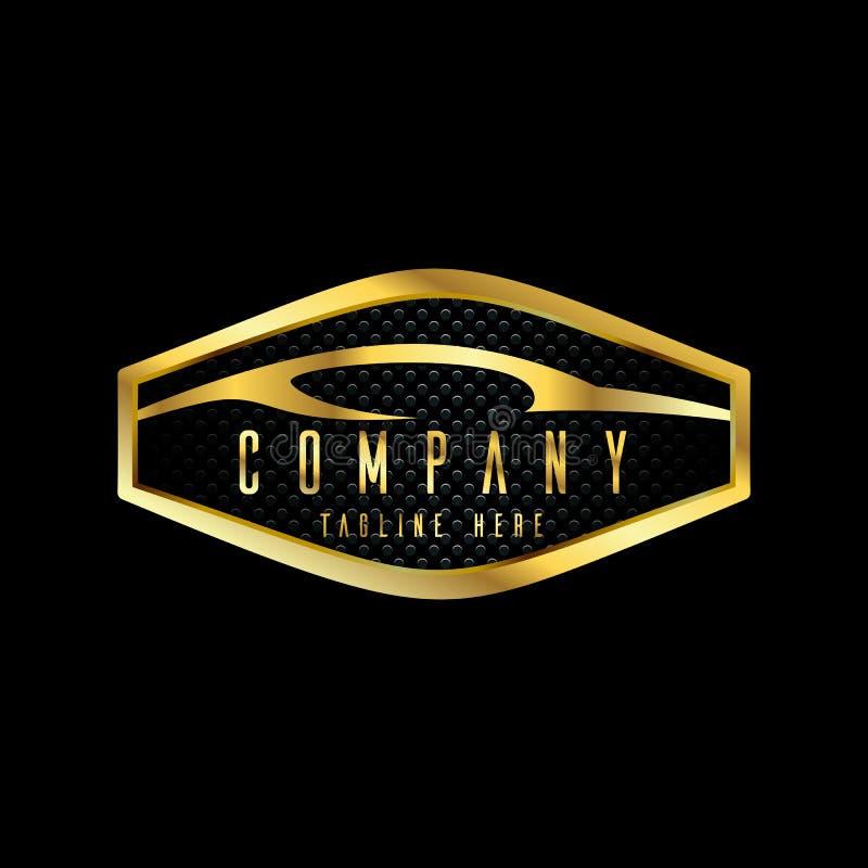 Modern car emblems, badges logo design template for car service, tire service, wash and detailing vector illustration