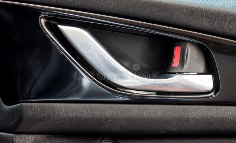 Modern Car\'s Door Opening Handle And Door Lock Stock Image - Image ...