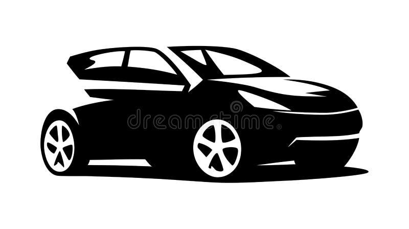 modern car vector stock vector illustration of speed 58295198 rh dreamstime com car vector art car vector line art