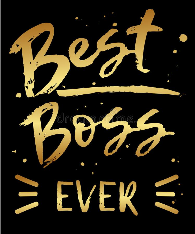 Best boss ever greeting card stock vector illustration of poster download best boss ever greeting card stock vector illustration of poster best m4hsunfo