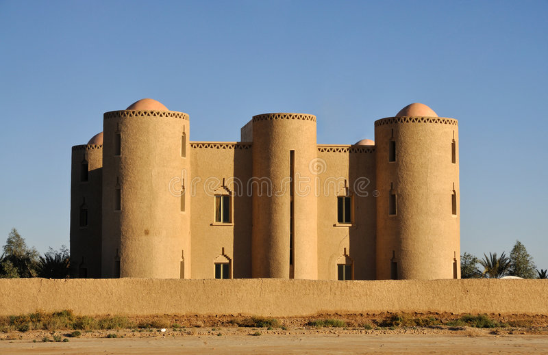 Download Modern Casbah in Morocco stock photo. Image of fortification - 7533692