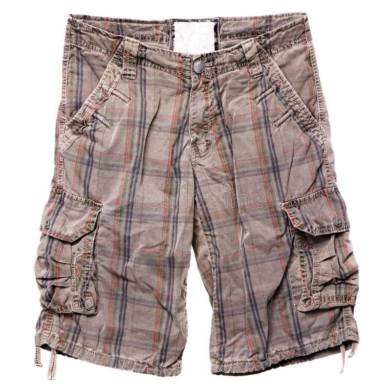 Modern Casual Shorts Royalty Free Stock Photo