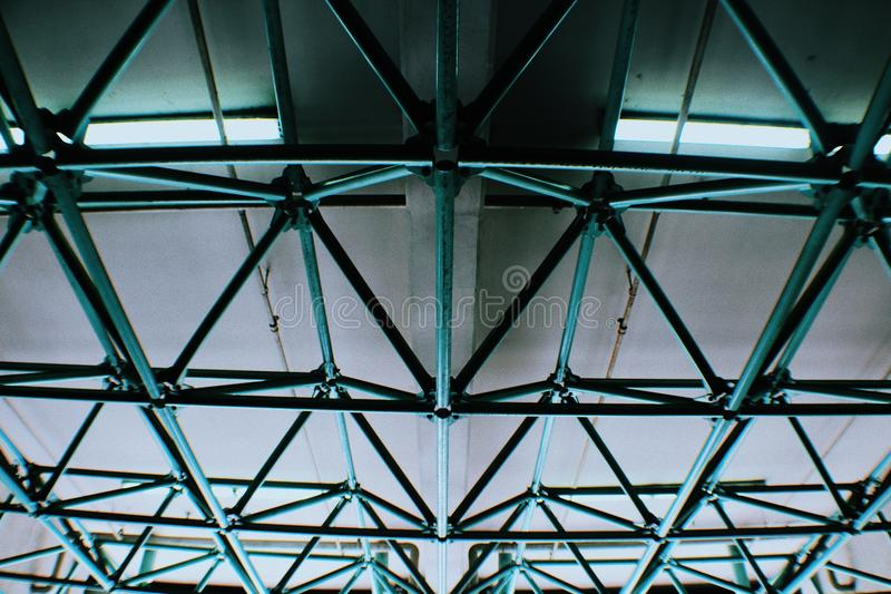Modern ceiling royalty free stock image