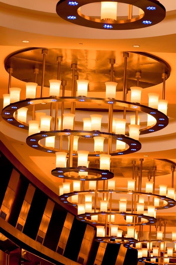 Modern Ceiling Light stock image