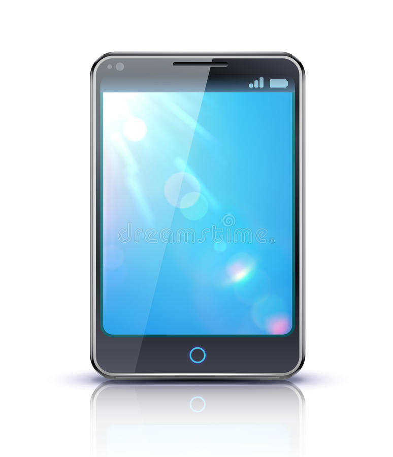 Download Modern cellphone stock vector. Image of contemporary - 24562637