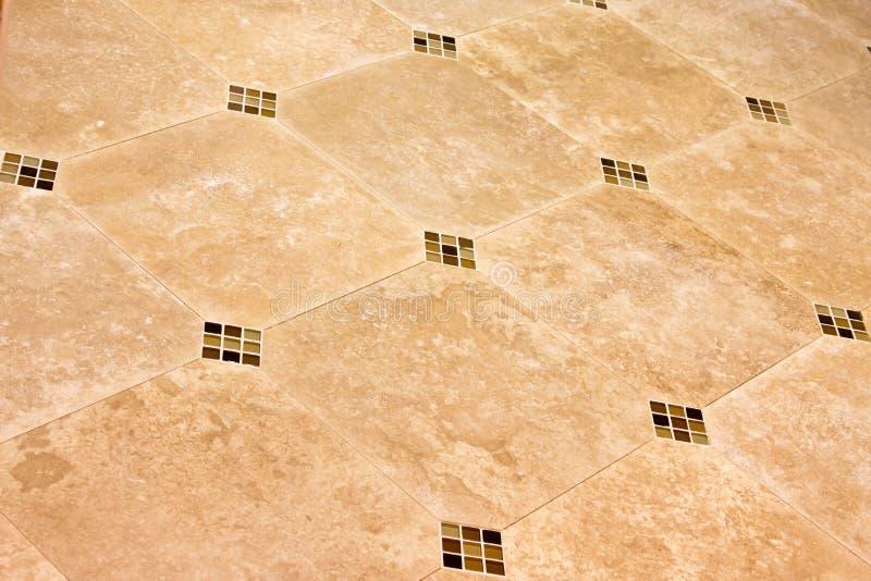 Modern ceramic tile floor
