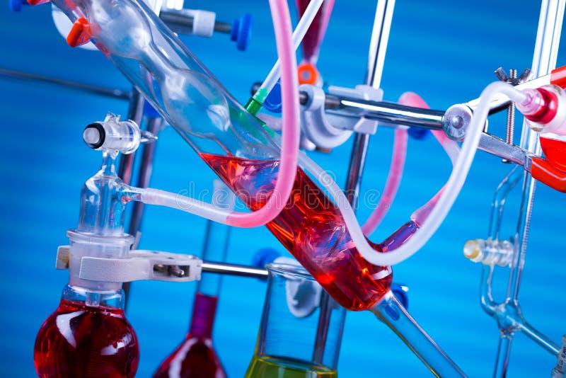Modern chemical laboratory. stock photo