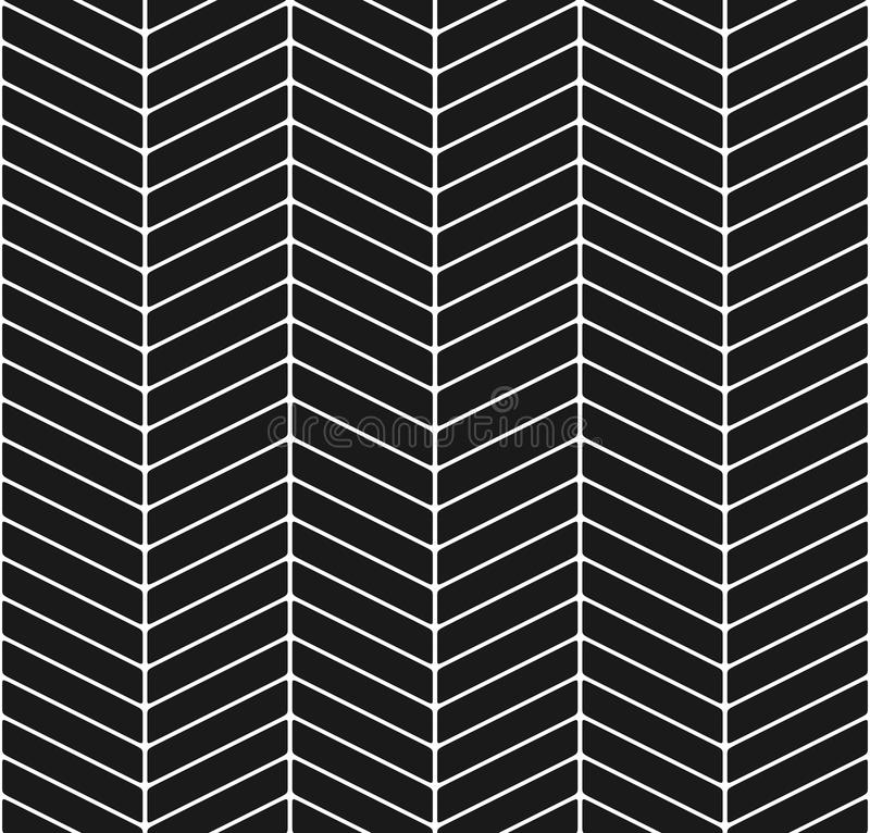 Modern chevron seamless pattern stock illustration