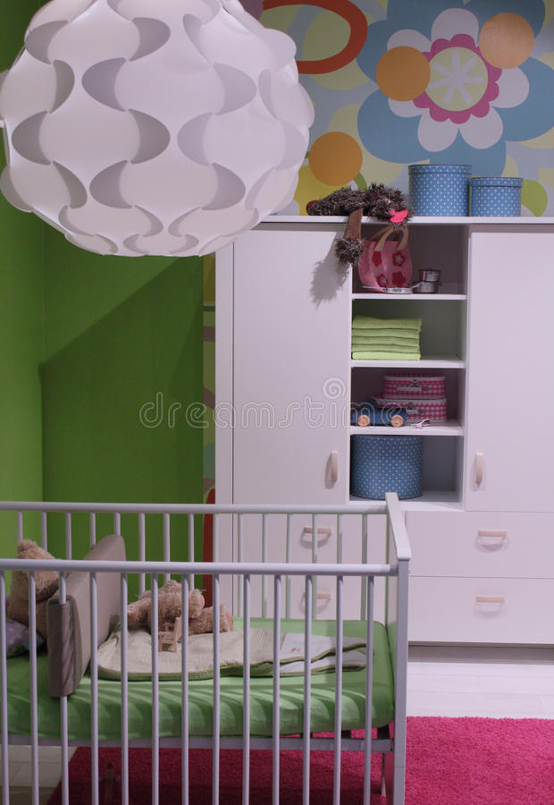 Modern child room interior design. royalty free stock photo