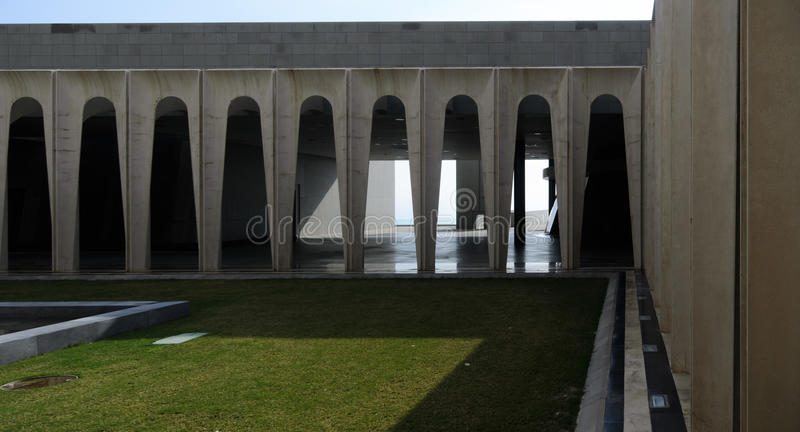 Modern Christian architecture royalty free stock photography