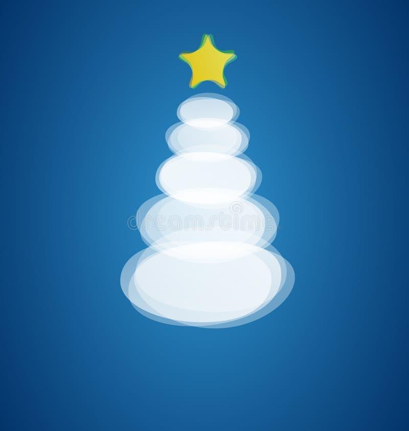 Download Modern Christmas tree card stock illustration. Illustration of card - 27447707