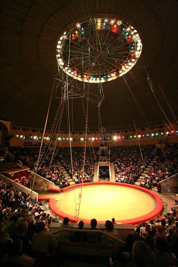 Modern cirkus arkivbilder