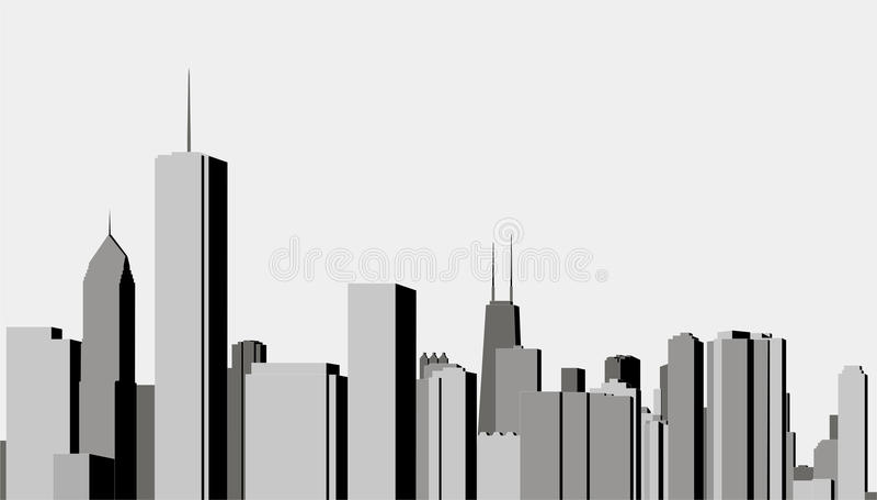 Modern City Royalty Free Stock Photos