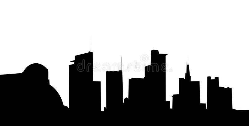 Download Modern city stock illustration. Image of spire, downtown - 5593874