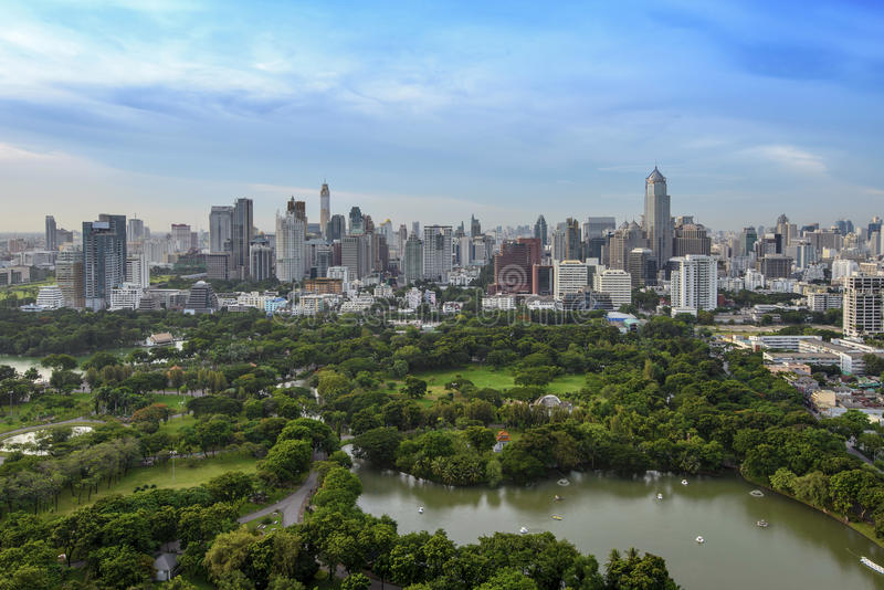 Download Modern city of Bangkok stock photo. Image of country - 37646056