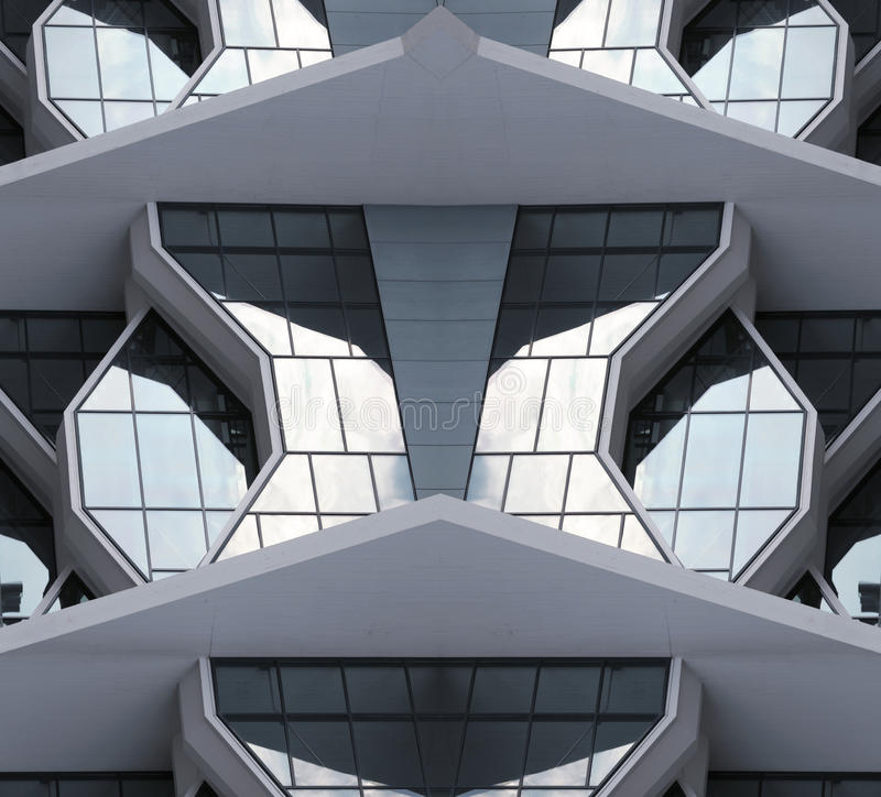 Modern city building from 21st century royalty free stock photos