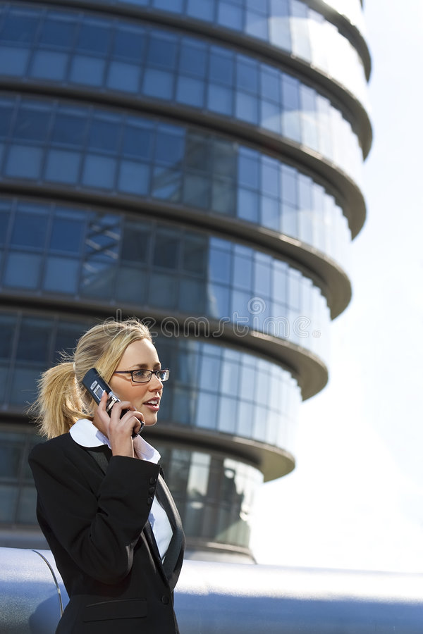 Modern City Executive stock image