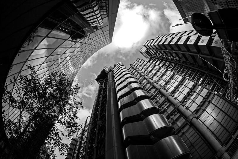 Modern City Landscape, London royalty free stock images