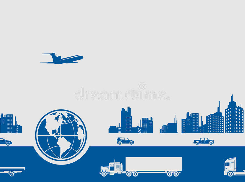 Download Modern City Life Stock Vector - Image: 41426005