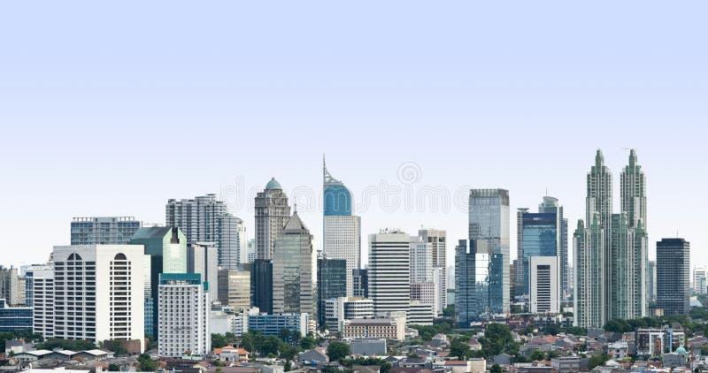 Modern cityscape royaltyfria bilder