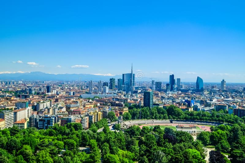 Modern Cityscape On A Sunny Day royalty free stock images