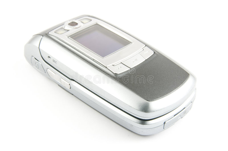 Modern clamshell phone royalty free stock images