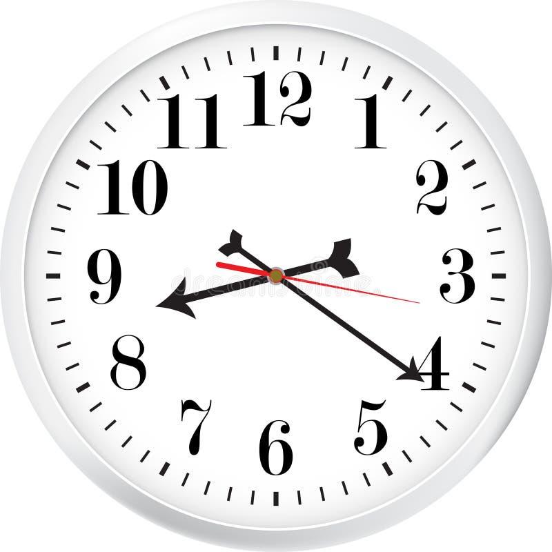 Modern clock royalty free illustration