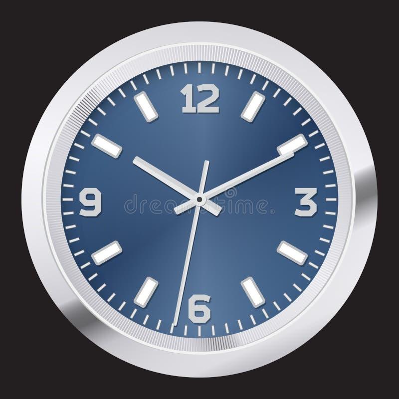 Modern clock vector illustration