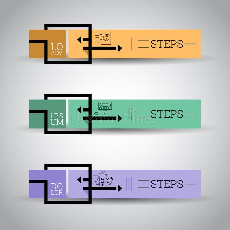 Modern Colorful design template/ Inforgraphics/ Numbered Banners. Modern Colorful Modern Colorful design template/ Inforgraphics/ Numbered Banners. EPS10 Vector stock illustration