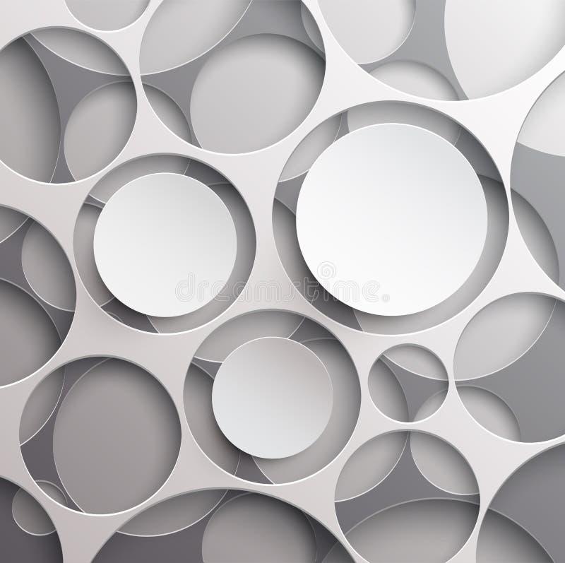Modern colorful design stock illustration