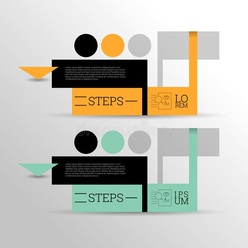 Modern Colorful design template/ Inforgraphics/ Numbered Banners. Modern Colorful Modern Colorful design template/ Inforgraphics/ Numbered Banners. EPS10 Vector royalty free illustration