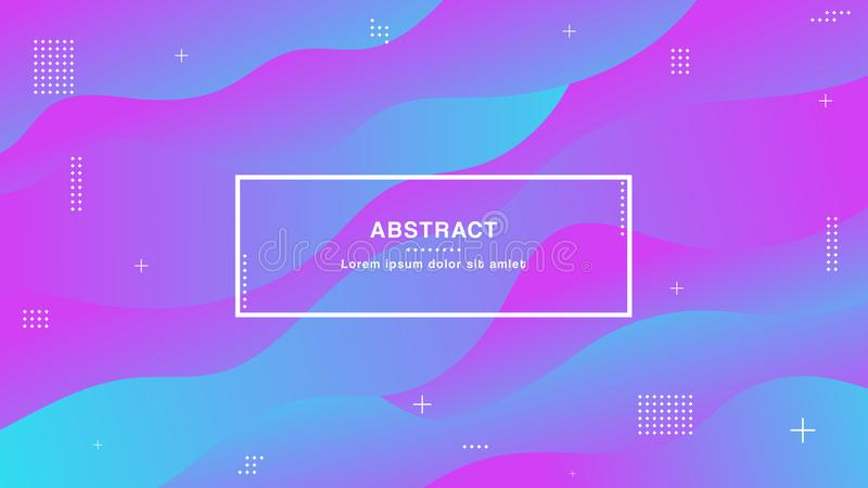 Modern colors,geometric background with trendy gradients composition and simple shapes vector illustration