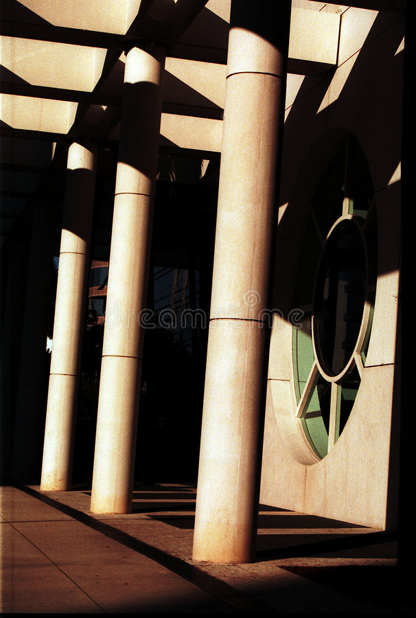 Modern Columns royalty free stock images