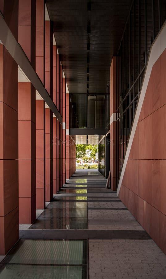 Modern columns royalty free stock photos