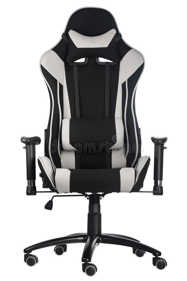 Modern comfortable gaming chair stock photos
