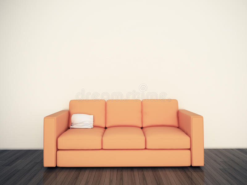 Download Modern Comfortable Interior With 3d Rendering Stock Photography - Image: 22505882